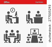 office icons. professional ... | Shutterstock .eps vector #277035293