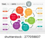 web template for circle diagram ... | Shutterstock .eps vector #277058837