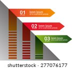 infographics design over white...   Shutterstock .eps vector #277076177
