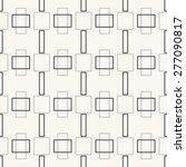 seamless pattern  stylish... | Shutterstock . vector #277090817