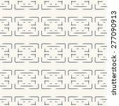 seamless pattern  stylish... | Shutterstock . vector #277090913