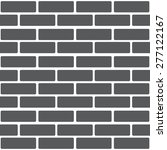 background from a gray brick. | Shutterstock .eps vector #277122167