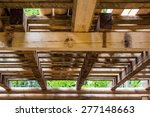 interior detail of a wooden...   Shutterstock . vector #277148663