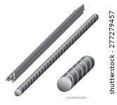 vector illustration of steel... | Shutterstock .eps vector #277279457