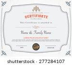 vector illustration of gold... | Shutterstock .eps vector #277284107