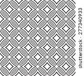 islamic ornament pattern ... | Shutterstock .eps vector #277340933