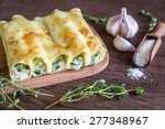 Cannelloni With Ricotta And...