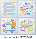 collection of rhombus template... | Shutterstock .eps vector #277356467