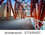 The Detroit Bridge In Salford...