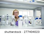 woman scientist laboratory... | Shutterstock . vector #277404023