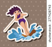 water sports theme elements | Shutterstock .eps vector #277428743
