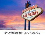 welcome to fabulous las vegas... | Shutterstock . vector #277430717