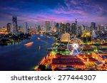 bangkok cityscape. bangkok... | Shutterstock . vector #277444307