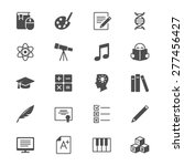 education flat icons | Shutterstock .eps vector #277456427