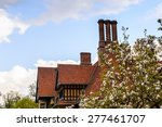 chimney of the cecilienhof... | Shutterstock . vector #277461707