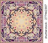 elaborate scarf design | Shutterstock .eps vector #277462307