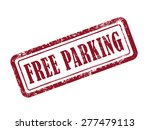 stamp free parking in red over...