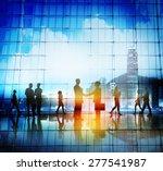business people handshake... | Shutterstock . vector #277541987