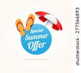 Special Summer Offer | Shutterstock vector #277566893