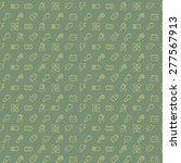 vector seamless pattern with... | Shutterstock .eps vector #277567913