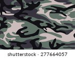 vector background of soldier... | Shutterstock .eps vector #277664057