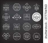 tattoo studio logo design. | Shutterstock .eps vector #277706963