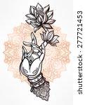Elegant  Hand Drawn Buddha's...