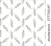 watercolor seamless pattern | Shutterstock .eps vector #277733147