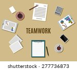 flat style modern design of... | Shutterstock .eps vector #277736873