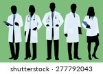 doctors   physicians in... | Shutterstock .eps vector #277792043