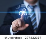 business  technology and... | Shutterstock . vector #277822397
