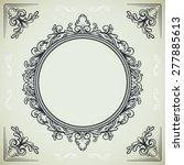 set of vintage design elements  ... | Shutterstock .eps vector #277885613