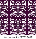 floral simple texture | Shutterstock .eps vector #277893467