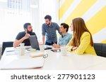 start up team | Shutterstock . vector #277901123
