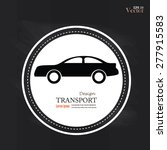 transportation vector... | Shutterstock .eps vector #277915583