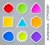 color geometric shapes with...   Shutterstock .eps vector #277920287