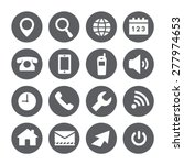 web icons  vector set