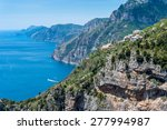 Amalfi Coast Landscape  From...