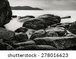 Seascape In Black And White...