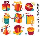 a cartoon vector illustration...   Shutterstock .eps vector #278068787
