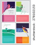 spring brochure covers... | Shutterstock .eps vector #278102153