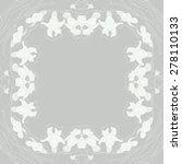 circular  seamless pattern of... | Shutterstock .eps vector #278110133