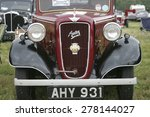classic vintage car at a... | Shutterstock . vector #278144027