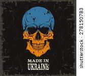 skull color of the flag   Shutterstock .eps vector #278150783