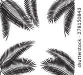 palm leaf vector illustration...   Shutterstock .eps vector #278150843