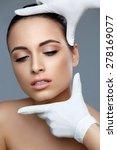 cosmetic surgery. beautiful... | Shutterstock . vector #278169077