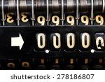 old  style cash register with ... | Shutterstock . vector #278186807