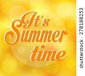 summer background | Shutterstock .eps vector #278188253