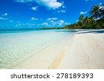 tropical beach | Shutterstock . vector #278189393