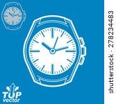 vector graphic pocket watch... | Shutterstock .eps vector #278234483